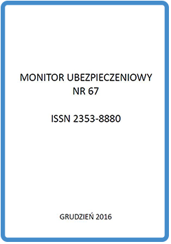Monitor Ubezpieczeniowy NR 67